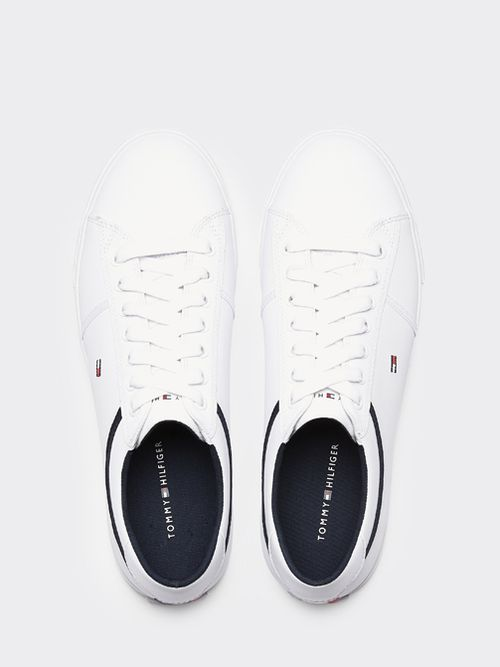 Zapatillas-color-block-Essential-de-piel-con-cordones-Tommy-Hilfiger