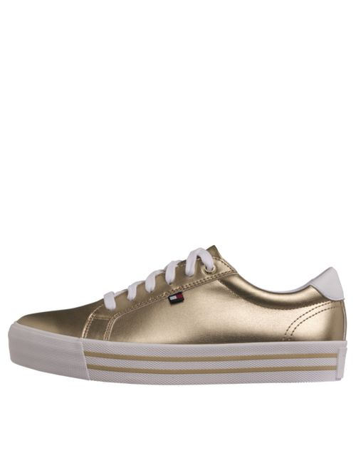 SNEAKER-METALLIC-LEATHER-CASUAL-Tommy-Hilfiger
