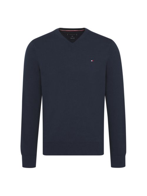 BUZO-WCC-CLASSIC-COTTON-V-NECK-Tommy-Hilfiger