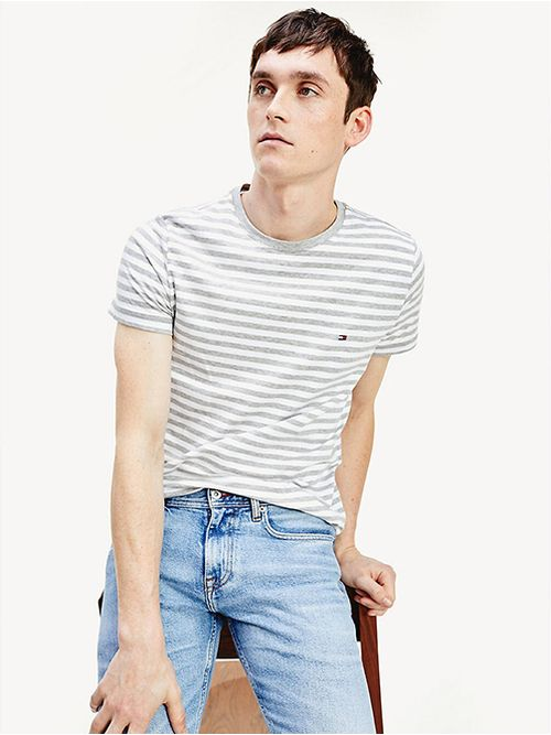 Camiseta-de-corte-slim-en-algodon-elastico-Tommy-Hilfiger