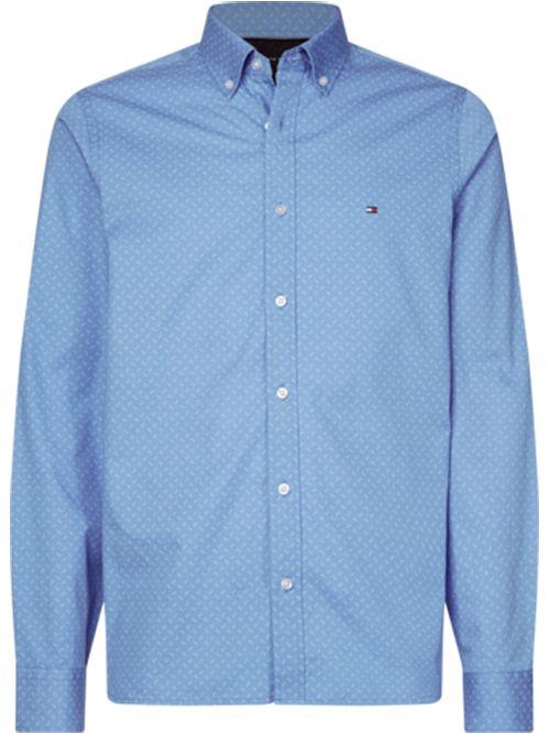 Camisa-de-corte-slim-con-estampado-geometrico-Tommy-Hilfiger