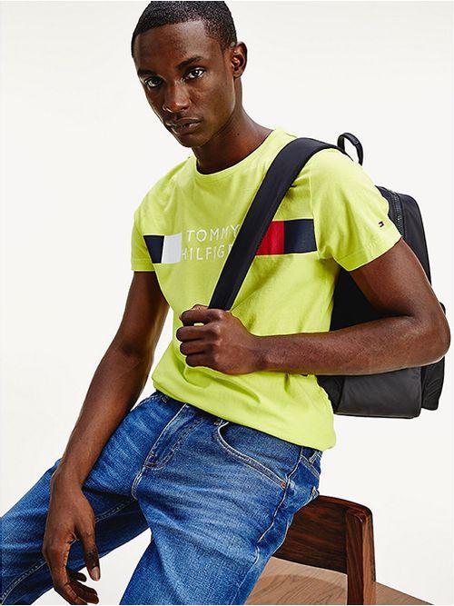 Camiseta-de-algodon-organico-y-corte-regular-Tommy-Hilfiger