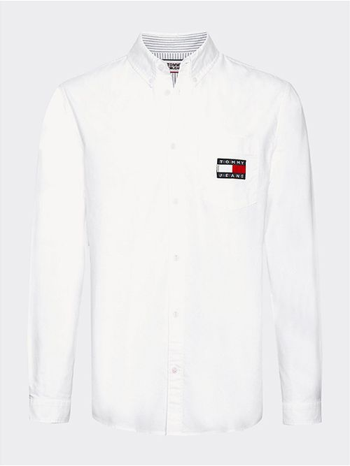 Camisa-con-logo-de-corte-ancho-Tommy-Hilfiger