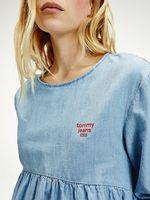 Blusa-vaquera-con-logo-Tommy-Hilfiger