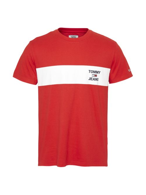 CAMISETA-TJM-CHEST-STRIPE-LOGO-T-SHIRT-Tommy-Hilfiger