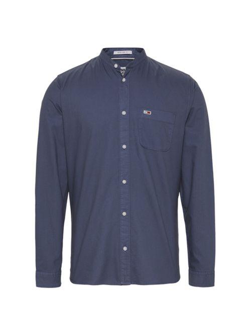 Camisa-Oxford-con-cuello-mao-Tommy-Hilfiger