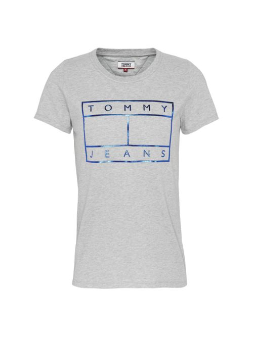 Camiseta-con-logo-metalizado-Tommy-Hilfiger