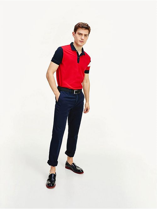 POLO-WCC-SLEEVE-COLORBLOCK-REGULAR-Tommy-Hilfiger