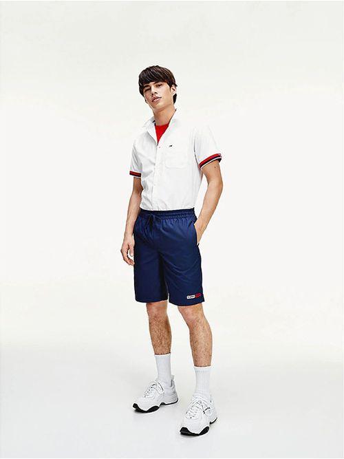 Camisa-de-manga-corta-con-cinta-distintiva-Tommy-Hilfiger