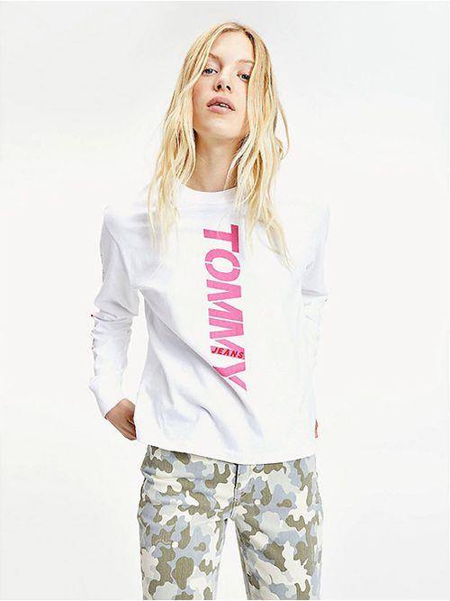 Camiseta-de-manga-larga-con-logos-Tommy-Hilfiger