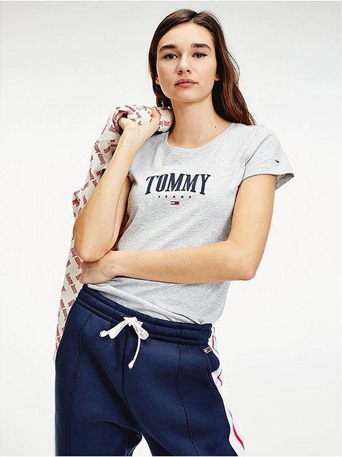 Camiseta-de-corte-slim-con-logo-Tommy-Hilfiger
