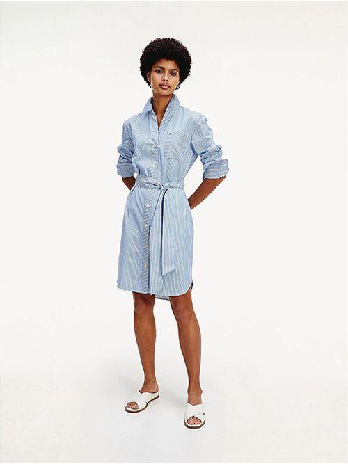 Vestido-camisero-de-algodon-Tommy-Hilfiger