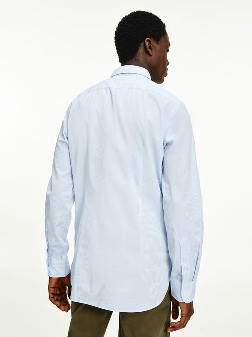 Camisa-de-algodon-elastico-con-corte-slim
