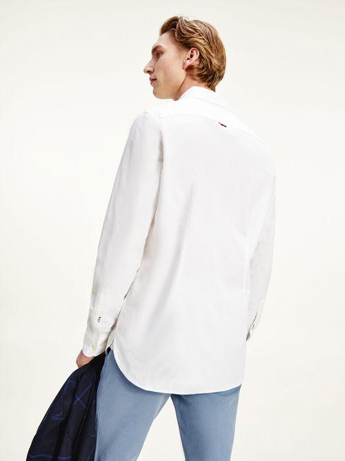 Camisa-TH-Flex-de-tejido-dobby-y-corte-slim