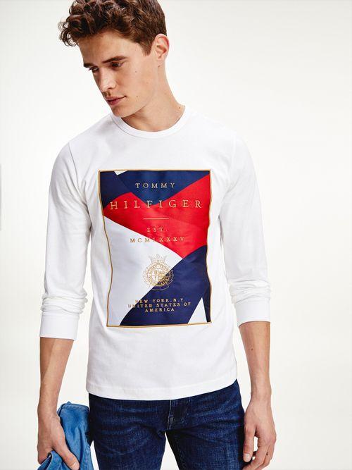 Camiseta-Tommy-Icons-de-manga-larga