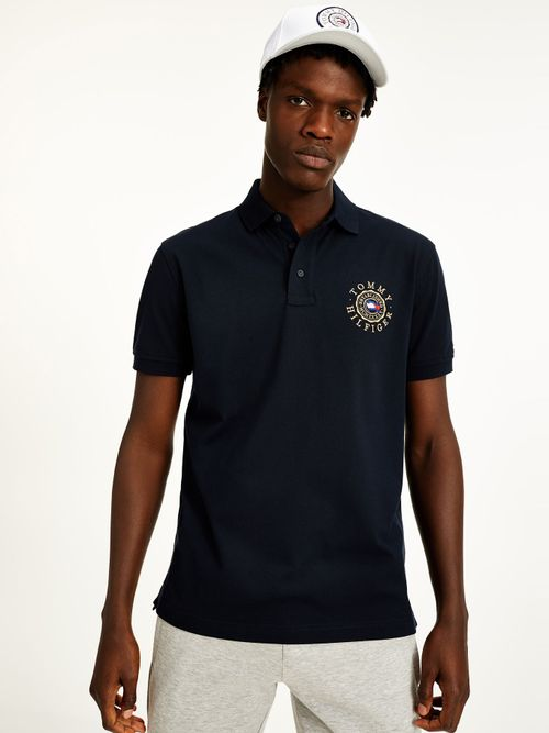 Polo-Tommy-Icons-con-logo-bordado