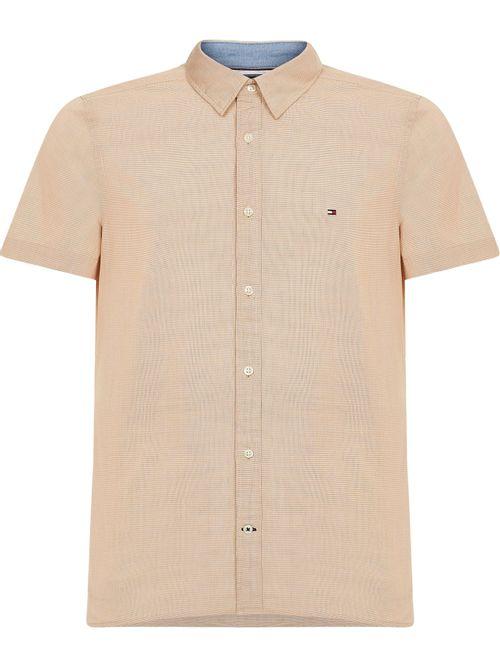 Camisa-de-cuadros-de-manga-corta