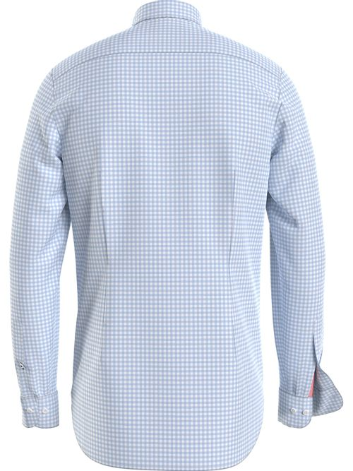 Camisa-de-cuadros-Vichy-con-corte-slim